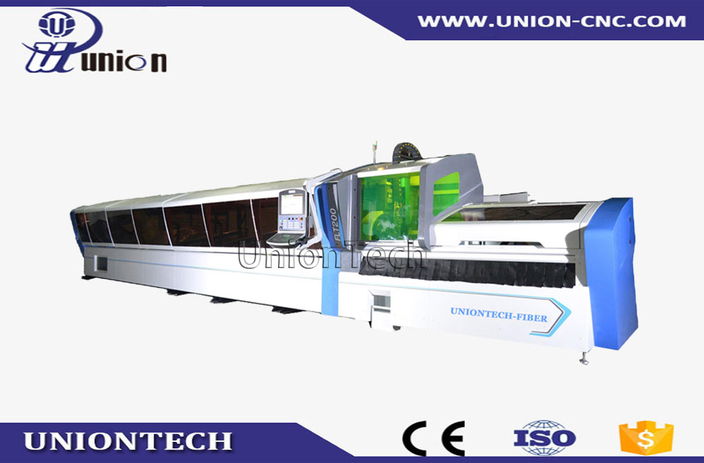 Stainless steel pipe fiber laser cutting machine