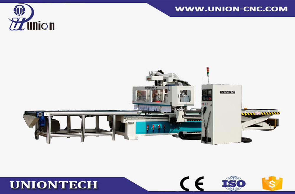 Automatic loading&loading CNC cutting machine
